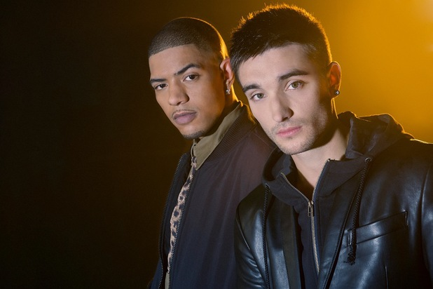 Richard Rawson and Tom Parker in 'Fireflies' music video.