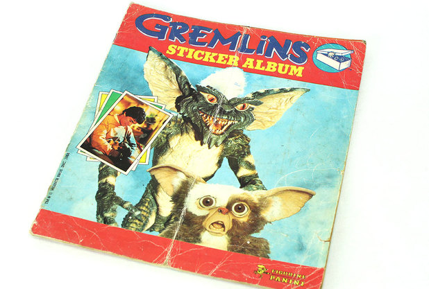 Gremlins sticker album