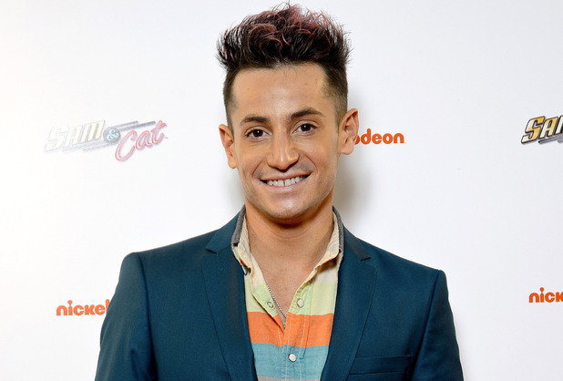 Frankie Grande attends the UK Premiere of Sam & Cat at Cineworld 02 Arena