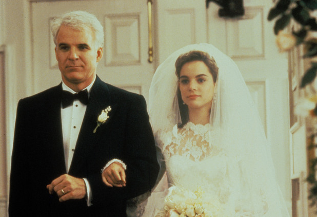Steve Martin, Kimberley Williams in Father of The Bride