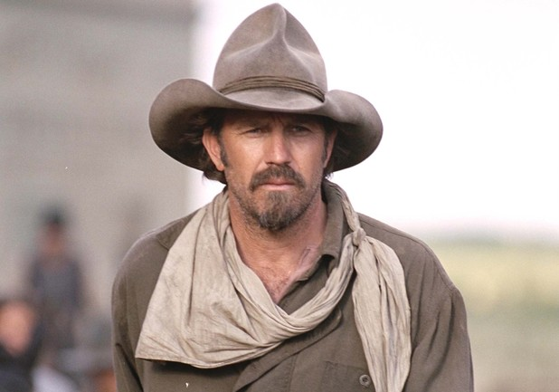 Kevin Costner in Open Range