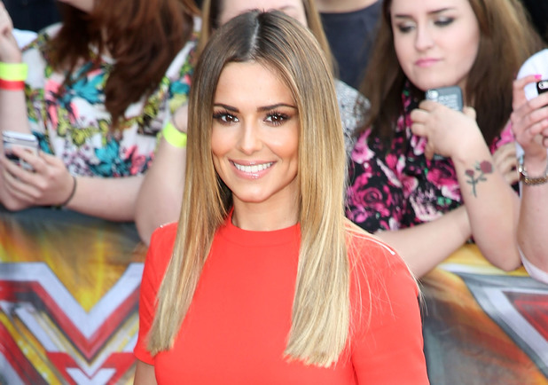 Cheryl Cole arrives for the London Auditions of X Factor at Emirates Stadium