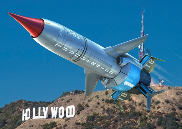 First look at the new Thunderbird 1 from ITV's Thunderbirds Are Go!