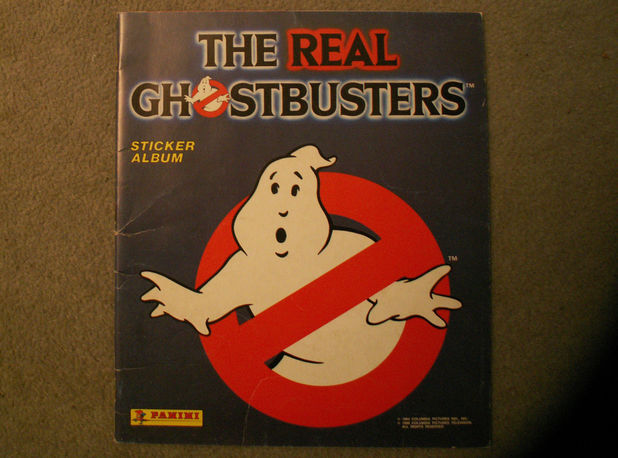 Ghostbusters stickers album