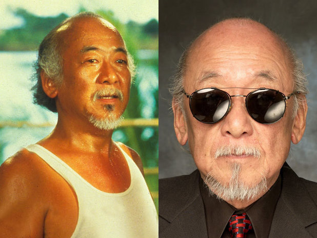The cast of Karate Kid then and now: Pat Morita