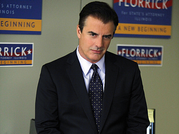 Chris Noth as Peter Florrick in The Good Wife