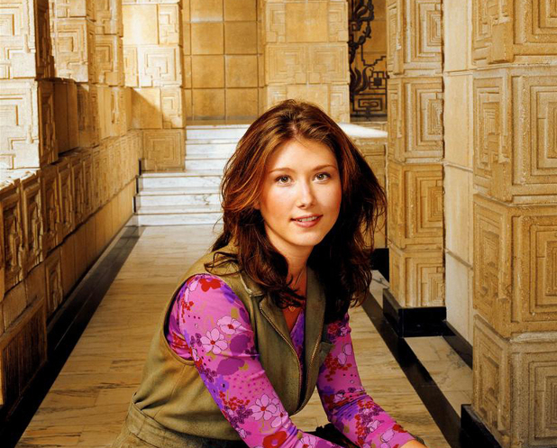 Jewel Staite as Kaylee in Firefly