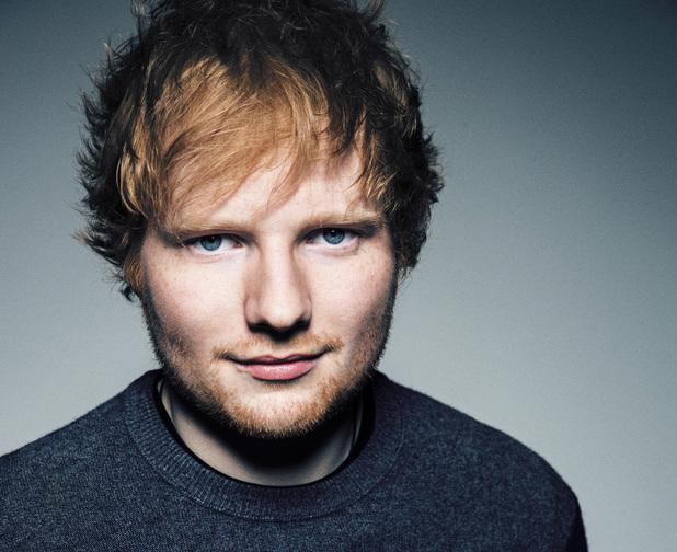 Ed Sheeran press shot.