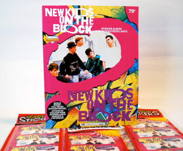 New Kids on the Block stickers