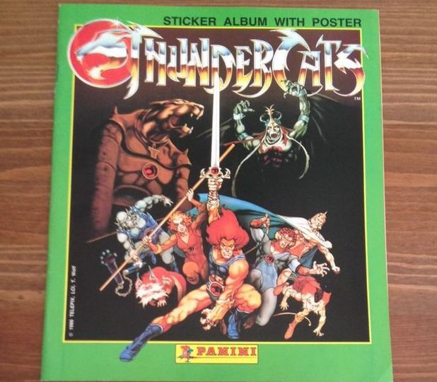 Thundercats sticker album