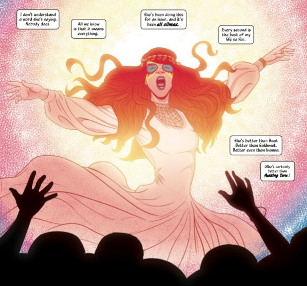 The Wicked + the Divine #1 interior art