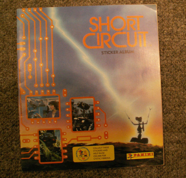 Short Circuit sticker album