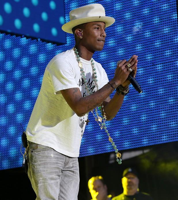 Capital FM Summertime Ball 2014: Pharrell Williams