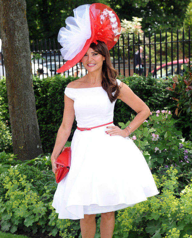 ASCOT, ENGLAND - JUNE 17: Lizzie Cundy attends Day 1 of Royal Ascot at Ascot Racecourse on June 17, 2014 in Ascot, England. (Photo by Stuart C. Wilson