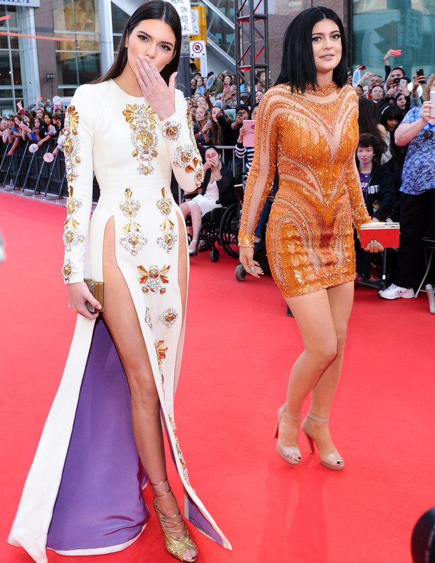 Kendall Jenner arrives at the 2014 MuchMusic Video Awards