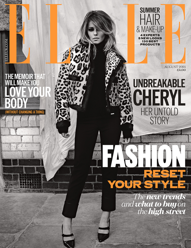Cheryl Cole in the new issue of ELLE