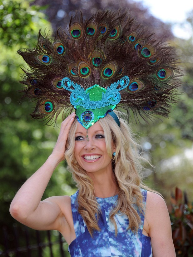 ASCOT, ENGLAND - JUNE 17: A Racegoer attends Day 1 of Royal Ascot at Ascot Racecourse on June 17, 2014 in Ascot, England. (Photo by Stuart C. Wilson/Getty Images)