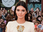 Kendall Jenner shocks in slashed gown
