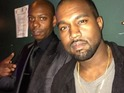 Kanye West makes surprise appearance at the end of Dave Chappelle's set.