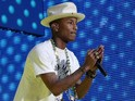 Pharrell Williams' 'Happy' has sold 1.8 million copies in the UK.