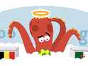 The late psychic Octopus makes his Belgium vs Algeria prediction.