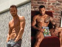 Thom Evans and David McIntosh compete for our attention with raunchy Attitude snaps.