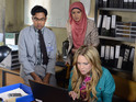 Alfie and Tamwar inform Roxy of their Aleks discovery next week.