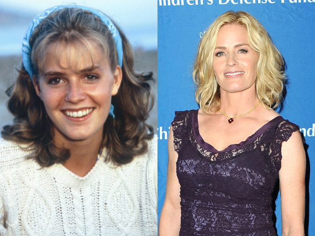 Elisabeth Shue now and then