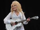 Dolly Parton says she will take the white lurcher home to the US if no-one claims it.
