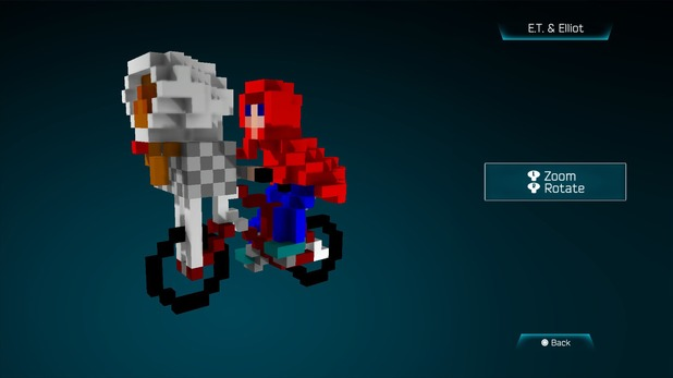 E.T. and Elliot created in Resogun's ship editor