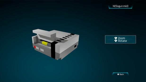 NESogun.mklI created in Resogun's ship editor