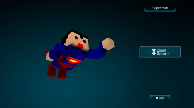 Superman in Resogun