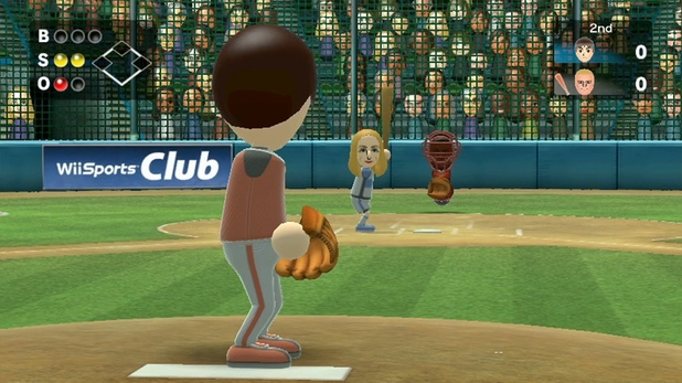 Wii Sports Club: Baseball