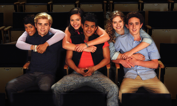 The cast of Lifetime's The Unauthorized Saved by the Bell Story