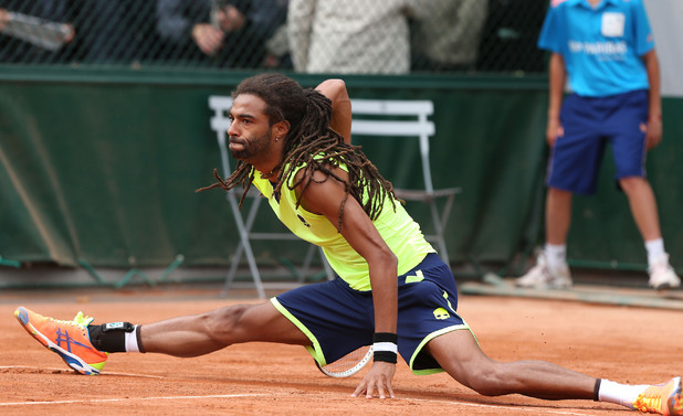 French Open Tennis Tournament, Roland Garros, Paris, France - 27 May 2014 Dustin Brown 27 May 2014
