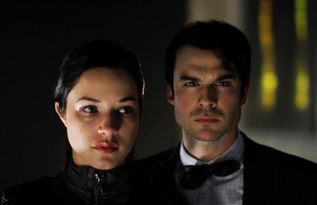 Alexis Knapp and Ian Somerhalder in The Anomaly