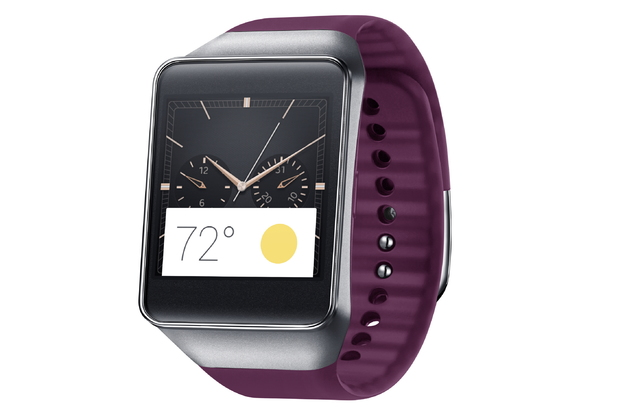 Android Wear: Gear Live Red Wine