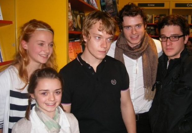 Young Game of Thrones cast