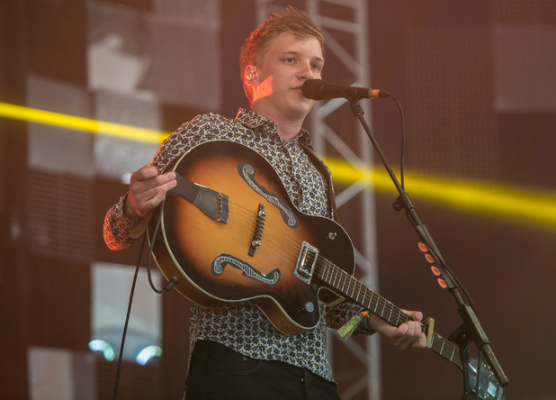George Ezra performs the day before his debut album will be released on the John Peel Stage
