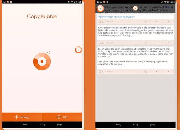 Copy Bubble