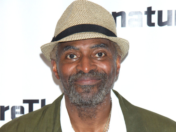 Carl Lumbly at the opening night after party for stop.reset