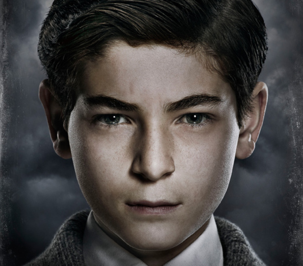 David Mazouz as Bruce Wayne in Gotham