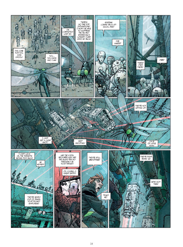 Ladrönn's Final Incal interior art