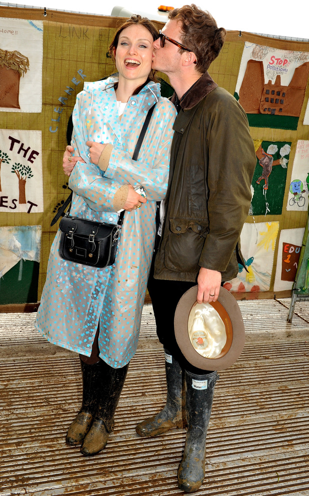 Sophie Ellis Bextor and husband Richard Jones