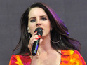 Lana Del Rey announced the news during a show in Washington over the weekend.