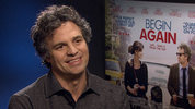 Mark Ruffalo, Keira Knightley, James Corden on singing and 'Begin Again'