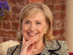 'This Morning' TV Programme, London, Britain - 04 Jul 2014 Hillary Clinton 4 Jul 2014 HILLARY CLINTON - She served as the US Secretary of State and after nearly 4 decades in public service as an advocate, attorney, First Lady and Senator, Hillary Clinton gives us the inside account of the crises, choices and challenges she faced. We'll be talking to her about becoming a grandmother for the first time and we ask if she'll be running for President in 2016. [Book: Hard Choices by Hillary Rodham Clinton - out now]