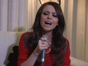 Cher Lloyd DS Sessions still.