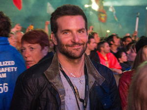 Bradley Cooper attend the Glastonbury Festival 2014