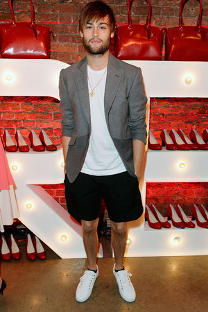 Launch Party To Celebrate Virgin Atlantic's New Vivienne Westwood Uniform Collection Douglas Booth